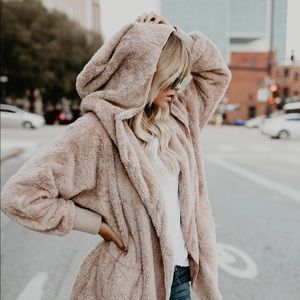 The Coziest Yet Pocketed Cardigan - Taupe